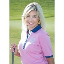 Damen Polo Gisi rosa