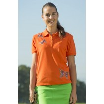 Polo Shirt Butterfly ORANGE