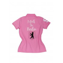 Damen Polo Shirt I golf in Berlin ROSA