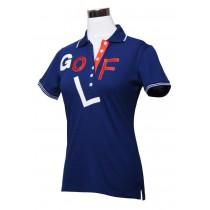 Damen Polo Shirt GOLF navy