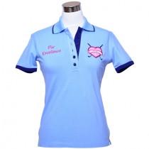 Damen Polo Par Excellence iceblue