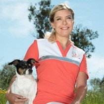 Damen Golf Polo Shirt Endless Golf HELLROT