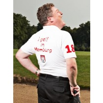 Herren Polo Shirt I golf in Hamburg WEISS