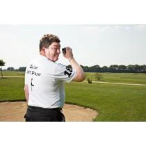 Herren Polo Shirt Sylter Golf Player weiss