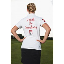 Damen Polo Shirt I golf in Hamburg WEISS