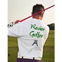 Herren Golf Polo Shirt Revier Golfer
