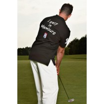 Herren Polo Shirt I golf in Hamburg SCHWARZ