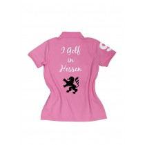 Damen Polo Shirt I golf in Hessen ROSA