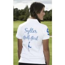 Damen Polo Shirt Sylter Golf Girl WEISS