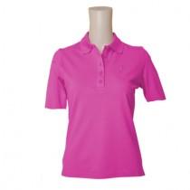 Polo Loggy Halbarm pink