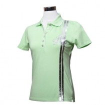 Damen Golf Polo Shirt Bloom hellgrün