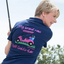 Polo Golf Cart navy blau