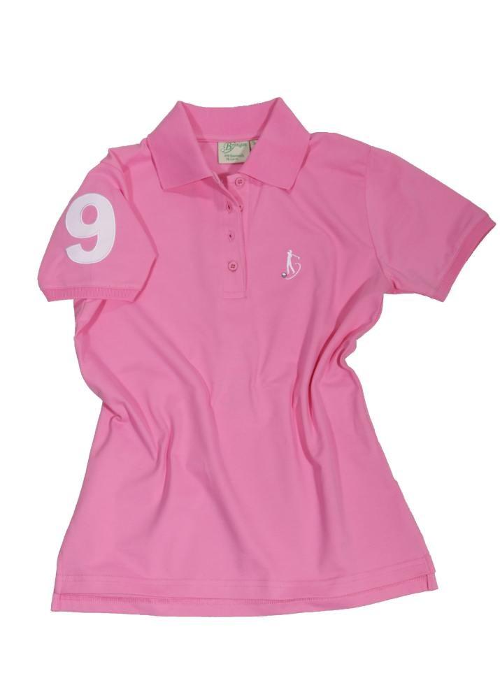 damen polo shirt i golf in berlin rosa polo shirts damen. Black Bedroom Furniture Sets. Home Design Ideas