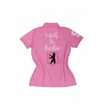 Damen Polo Shirt I golf in Berlin ROSA