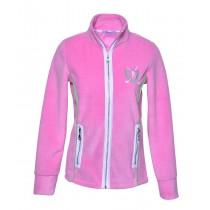 Brittigan Damen Fleece Jacke rosa