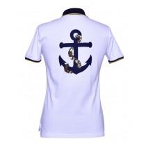 Brittigan Damen Golf Polo Shirt Anker