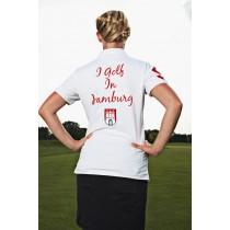 Damen Polo Shirt I golf in Hamburg WEISS