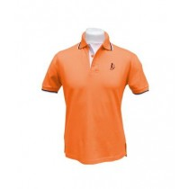 Herren Polo uni ORANGE