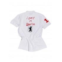 Herren Polo Shirt I golf in Berlin WEISS