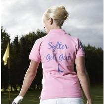 Damen Polo Shirt Sylter Golf Girl ROSA