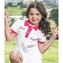 "Brittigan Mädchen Polo Shirt ""Most wanted Caddie"""