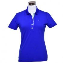 Damen Polo Chrissy royal blau