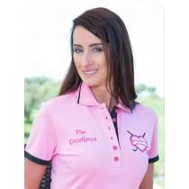 Damen Polo Par Excellence rosa