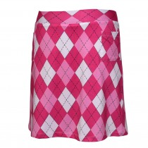 Brittigan Golf Skort All Squares pink