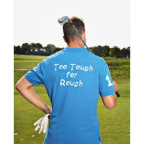 Herren Polo Shirt Too Tough for Rough ROYALBLAU