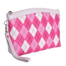 Brittigan Accessoire Golftasche Raute pink